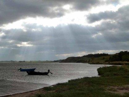 Fischerboote in der Abendsonne (c) FRank Koebsch