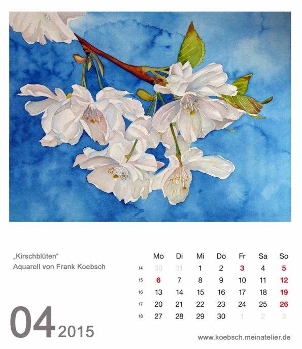 Kalenderblatt April 2015