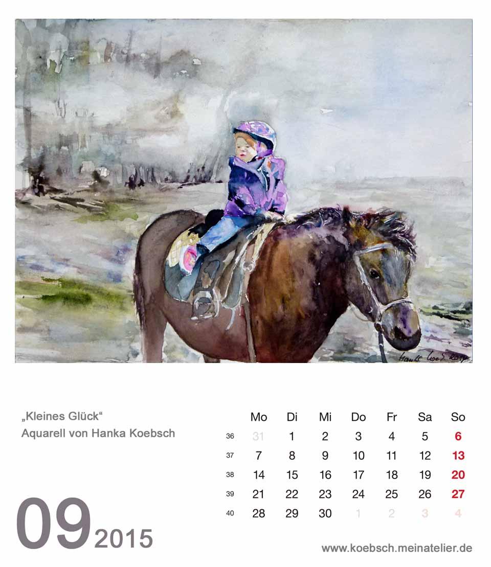 Kalenderblatt September 2015