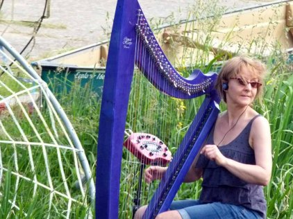 Kunst Offen an der Recknitz – Harfenkonzert & Percussion mit Kasia Lewandowska (c) Frank Koebsch (1)