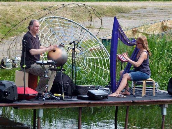 Kunst Offen an der Recknitz – Harfenkonzert & Percussion mit Kasia Lewandowska (c) Frank Koebsch (2)
