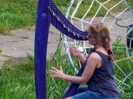 Kunst Offen an der Recknitz – Harfenkonzert & Percussion mit Kasia Lewandowska (c) Frank Koebsch (3)