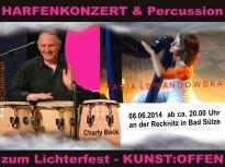 Kunst Offen an der Recknitz - Harfenkonzert & Percussion mit Kasia Lewandowska