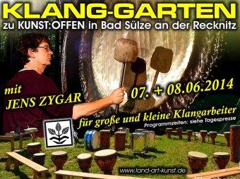 Kunst Offen an der Recknitz Klanggarten