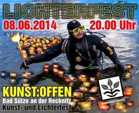 Kunst Offen an der Recknitz - Lichterfest