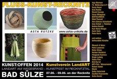 Kunst Offen - Fluss - Kunst - Asta Rutzke