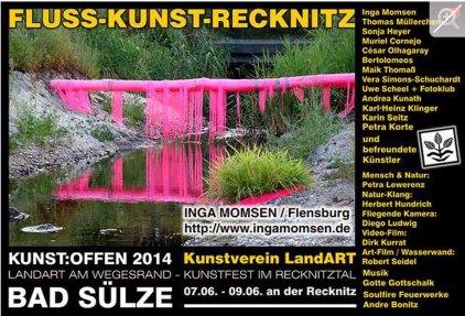 Kunst Offen - Fluss - Kunst - Inga Momsen