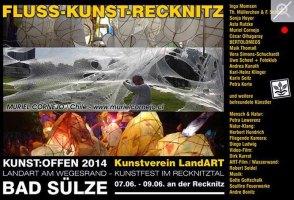 Kunst Offen - Fluss - Kunst - Muriel Cornejo