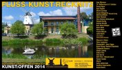 Kunst Offen - Fluss - Kunst -Recknitz (2)