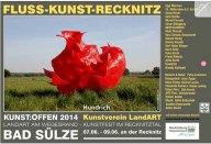 Kunst Offen - Fluss - Kunst -Recknitz - Hundrich