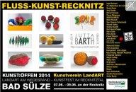 Kunst Offen - Fluss - Kunst -Recknitz - Jutta Barth
