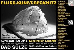 Kunst Offen - Fluss - Kunst - Sonja Heyer