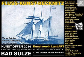 Kunst Offen - Fluss - Kunst - Thomas Müllerchen