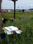 Malkurs auf den Boddenwiesen von Middelhagen (c) FRank Koebsch (6)
