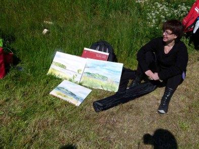 Malkurs auf den Boddenwiesen von Middelhagen (c) FRank Koebsch (8)