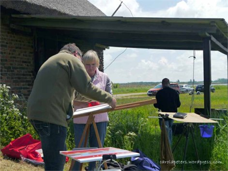 Malkurs in Middelhagen mit FRank Koebsch 1 (c) Carola Peters