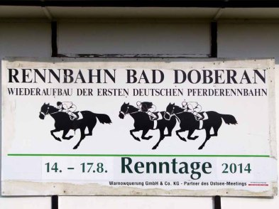Renntage 2014 auf der Galopprennbahn Bad Doberan (c) Frank Koebsch