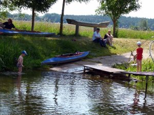Wassersportler bei der Kanustation am JAM (c) Frank Koebsch (1)