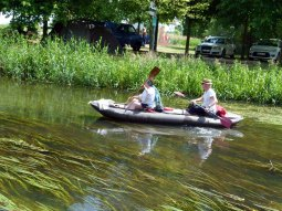 Wassersportler bei der Kanustation am JAM (c) Frank Koebsch (2)