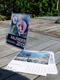Aquarell Kalender 2015 in CD Format (c) Frank Koebsch (1)