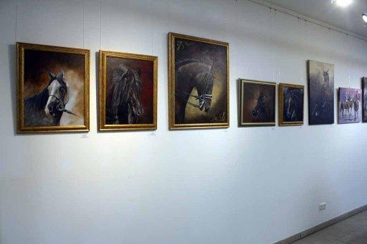 Bilder von Karina Sturm in der Ausstellung Faszination Galopper (c) Karina Sturm