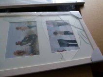 Defektes Glas bei der Lieferung von Hama (c) Frank Koebsch (1)