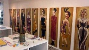 """Die Ausstellung """"La Gonzesse – Die 20er"""" in der Galerie Severina"""
