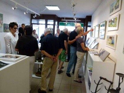 Die ersten Besucher sind da - Faszination Galopper (c) Frank Koebsch (1)