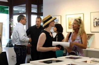 Gäste in der Ausstellung Faszination Galopper (c) Karina Sturm (6)