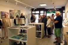 Gäste in der Ausstellung Faszination Galopper (c) Karina Sturm