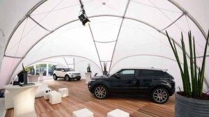 CREATIVE STRUCTURES – das Zelt für unsere Ausstellung Faszination Galopper der Firma Kentzler GmbH - Lebens(t)rau (1)