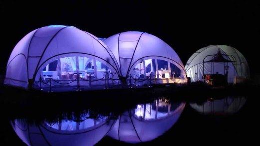 CREATIVE STRUCTURES – das Zelt für unsere Ausstellung Faszination Galopper der Firma Kentzler GmbH - Lebens(t)rau ( (3)