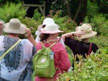 fesche Gärtnerinnen beim Ladies Day im Rosenpark von Groß Siemen (c) Frank Koebsch