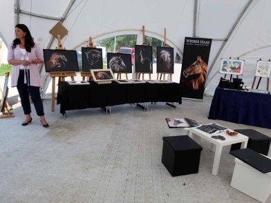 Fotos von Wiebke Haas in der Ausstellung Faszination Galopper auf derm Ostsee meeting 2014 (c) Frank Koebsch