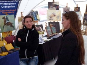Karina Strum und Konni Fuentes beim Pläneschmieden für das Ostsee Meeting 2015