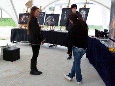 Konni Fuentes, Wiebke Hass und Karina Sturm beim Pläneschmieden für das Ostsee Meeting 2015