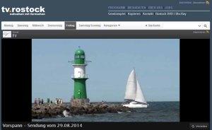 TV Rostock berichtet über den Tag der offenen Tür der VHS Rostock - 2014 08 29