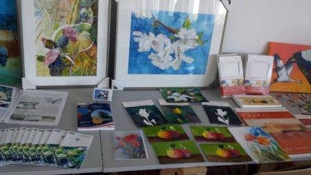 Was ist bei der Auswahl von Papier und Farben für ein Aquarell zu beachten (c) Frank Koebsch