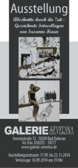 Abschnitte durch die Zeit – Gezeichnete Fotocollagen von Susanne Haun