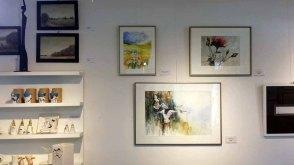 Aquarelle von Hanka und FRank Koebsch in der Galerie Severina (c) FRank Koebsch