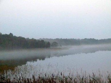 Nebel zieht über dem Rederang See auf ©Frank Koebsch (1)