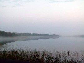 Nebel zieht über dem Rederang See auf ©Frank Koebsch (2)