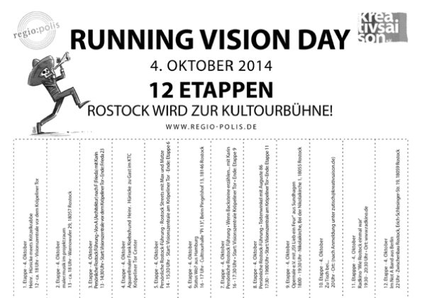 Running visions day - Rostock 2014