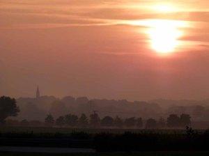 Sonnenuntergang in Spätsommer in Mecklenburg (c) FRank Koebsch (2)