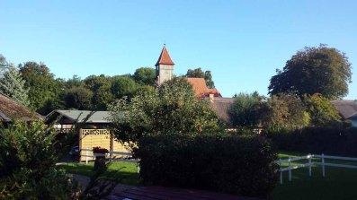 Blick auf die Kirche von Middelhagen (c) FRank Koebsch