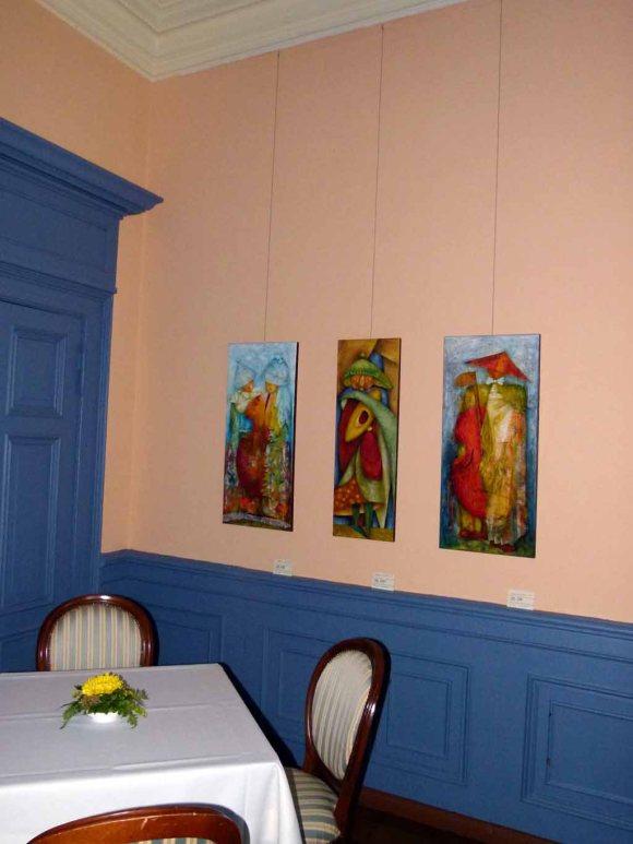 Einblick in die Ausstellungsräume im Schloss Griebenow (c) FRank Koebsch (5)