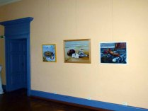 Einblick in die Ausstellungsräume im Schloss Griebenow (c) FRank Koebsch (7)