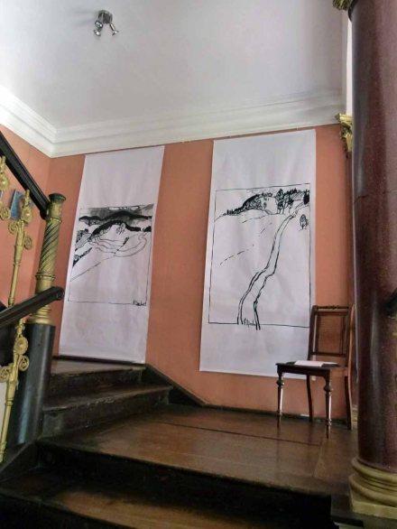 Einblick in die Ausstellungsräume im Schloss Griebenow (c) FRank Koebsch (9)