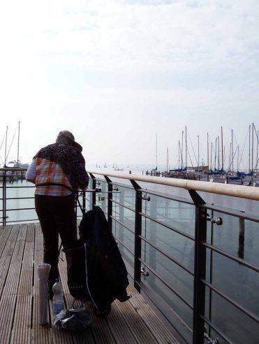 Malreise an die Ostsee - Aquarellieren im Hafen von Rerik (c) Frank Koebsch (1)
