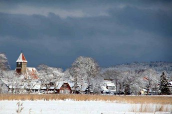Middelhagen im Winter (c) Jost Grünheid